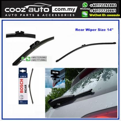 "BMW 335I E91 Bosch Rear Windscreen Flat Wiper Blade 14"" (350mm)"