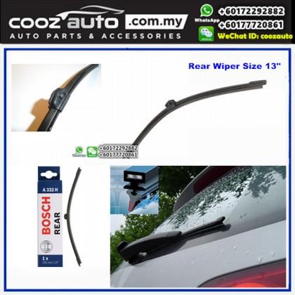"""AUDI S4 Avant MK3 [8K5,B8] 2009+ Bosch Rear Windscreen Flat Wiper Blade 16"""" (400mm)"""