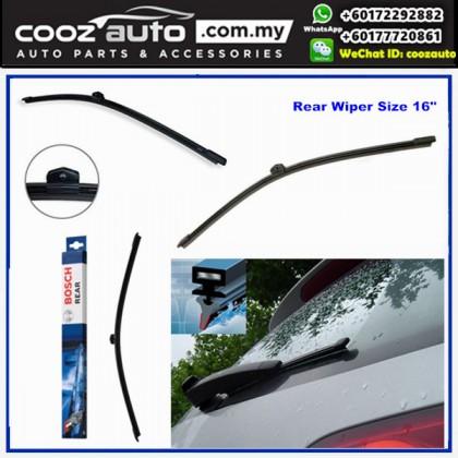"Audi A6Avant Mk4 4G C7 2007-2015 Bosch Rear Windscreen Flat Wiper Blade 16"" (400mm)"