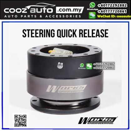 Works Engineering Steering Wheel Quick Release Hub