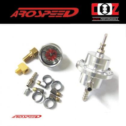 Arospeed Adjustable Fuel Pressure Regulator STAGE 2 TURBO