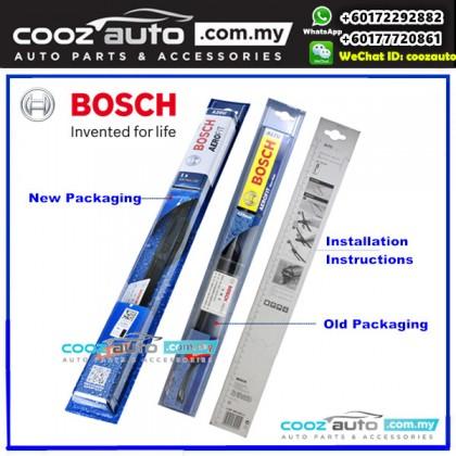 CHEVROLET SPARK 2005-2009 Bosch Aerofit Frameless Flat Blade Wiper (2pcs/set)