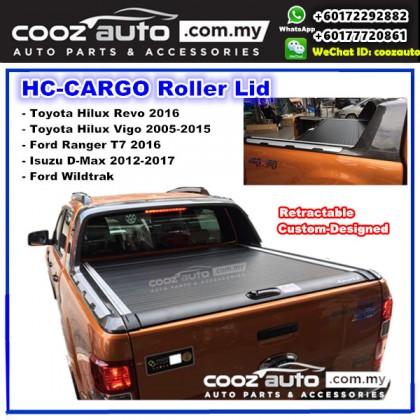 Toyota Hilux Vigo 2005-2015 Roller Shutter Top Retractable Cover Lid / Tonneau Covers