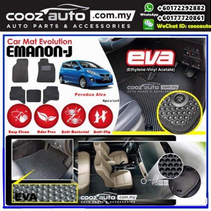 Perodua Alza  EMANON-J EVA Customized Odor-Free Anti-Bacterial Car Floor Mats Waterproof Carpet
