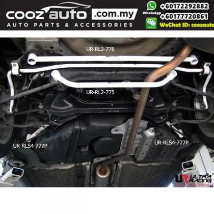 Honda Accord 2.0 2008 Ultra Racing Rear Lower Bar / Rear Member Brace (4 Points)