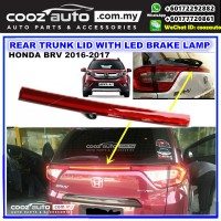 Honda BRV BR-V 2016-2018  Rear Trunk Lid with LED Reflector Brake Lamp