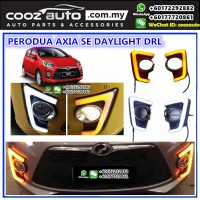 Perodua Axia Se Advance Daylight Daytime DRL + Signal + Fog Lamp Cover