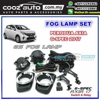 Perodua Axia G SPEC 2017 - 2018 Front Fog lamp Fog light Foglamp