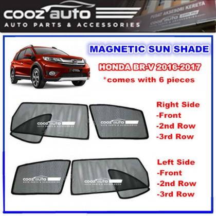 Honda BRV BR-V BR V 2016-2018 Magnetic Sun Shade Sunshade