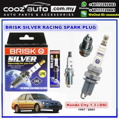 Honda City 1.3 i-DSI 1997 - 2003 Brisk Silver Racing Spark Plug