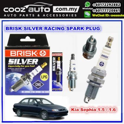 Honda Accord 2.0 2001 - 2005 Brisk Silver Racing Spark Plug