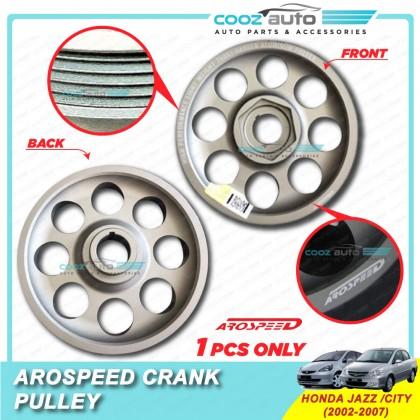 Honda City Jazz 2002-2007 Arospeed Harden Lighten Light Weight Crank Pulley (T6061 Aluminium)