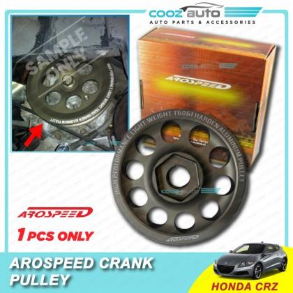 Honda CRZ CR-Z Arospeed Harden Lighten Light Weight Crank Pulley (T6061 Aluminium)
