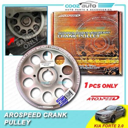 Kia Forte 2.0 Arospeed Harden Lighten Light Weight Crank Pulley (T6061 Aluminium)