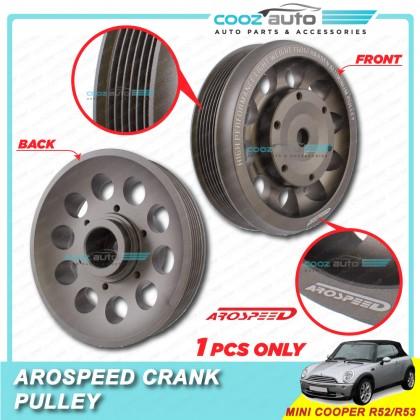 Mini Cooper R52 / R53 Arospeed Harden Lighten Light Weight Crank Pulley (T6061 Aluminium)