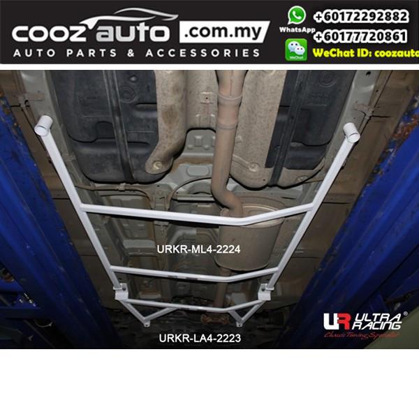 Hyundai Santa FE CM 2.0D 2WD 2010 Ultra Racing Middle Lower Bar Brace (4 Points)