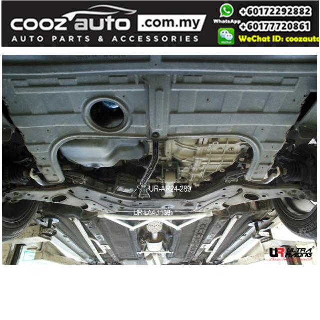 Hyundai Sonata YF I45 2010 24mm Ultra Racing Front Anti-roll Sway Stabilizer Bar