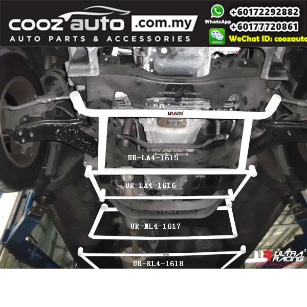 Hyundai Starex 2.5D 2007 Ultra Racing Front Lower Bar Member Brace (4 Points)