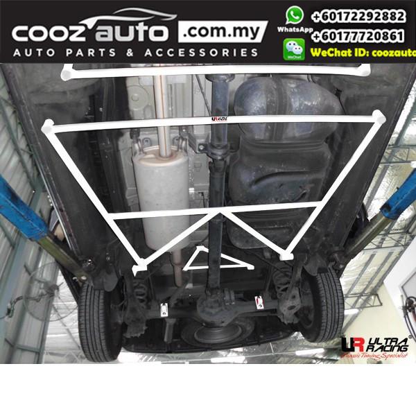 Hyundai Starex 2.5D 2007 Ultra Racing Rear Lower Bar Member Brace (4 Points)