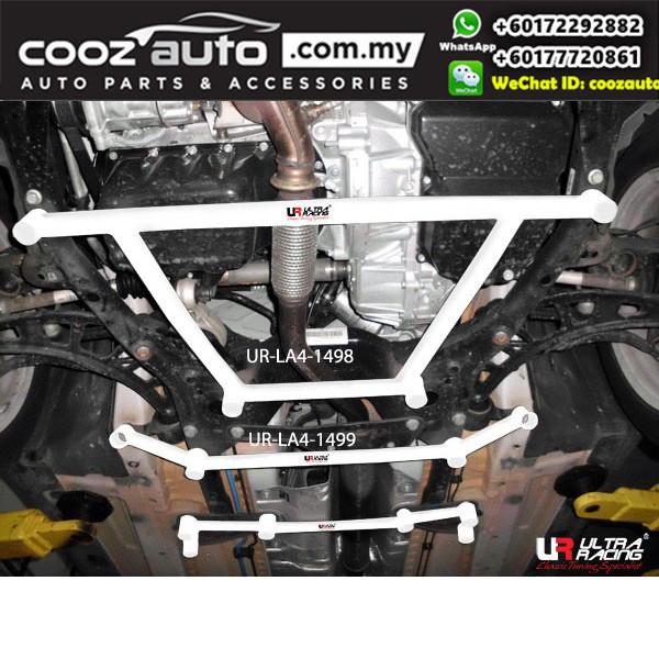 Mini Countryman R60 1.6 2010 Ultra Racing Front Lower Bar Member Brace 4 Points