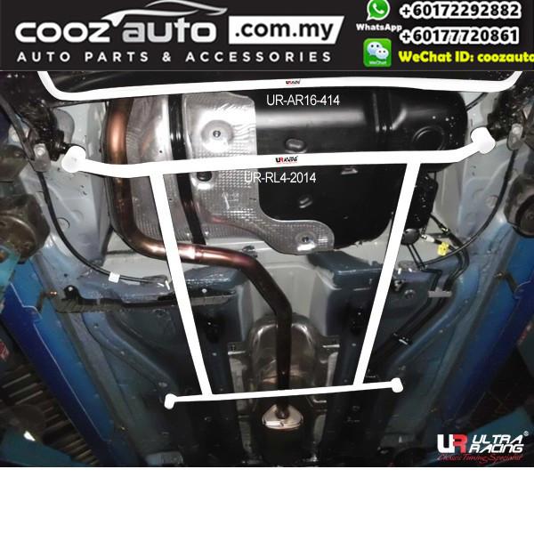 Chevrolet Sonic T300 2011 Ultra Racing Rear Lower Bar Member Brace (4 Points)