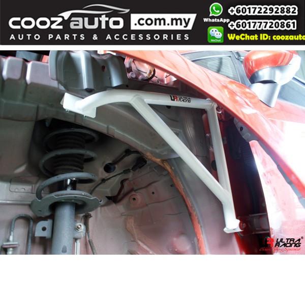 Ford Fiesta S MK7 1.0 Turbo 2WD 2014 Ultra Racing Fender Brace Bar (3 Points)