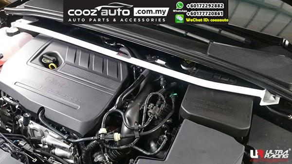 Ford Focus 3rd Gen 2.0 Duretec 2WD 2011 Ultra Racing Front Strut Tower Bar (2 PT