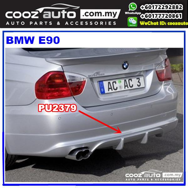 BMW E90 2005 - 2007 Rear Skirt (AC) PU2379