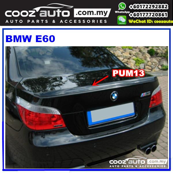 BMW E60 2005 Spoiler (M-Sport) PUM13