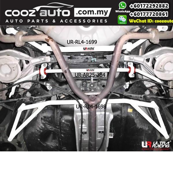 Nissan Cefiro Teana J32 2.0 2008 Ultra Racing Rear Lower Bar Brace (4 Points)