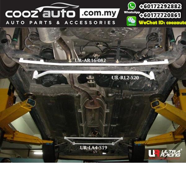 Nissan Cube Z11 1.5 2002 Ultra Racing Rear Lower Bar Brace (2 Points)