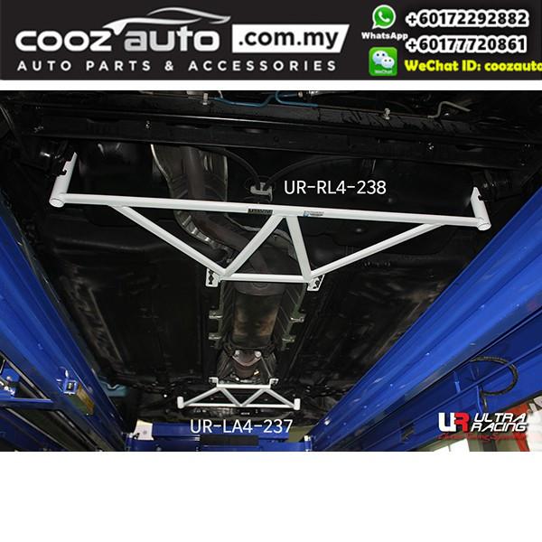 Nissan Cube Z12 1.8 2009 Ultra Racing Rear Lower Bar Member Brace (4 Points)