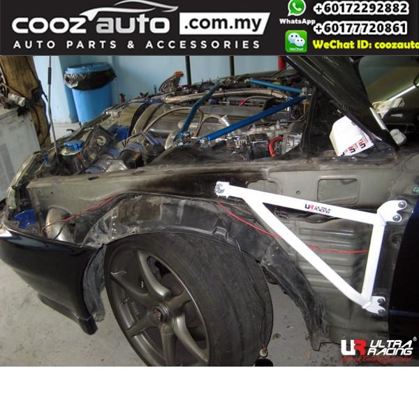 Nissan Skyline GTR R32 4WD Ultra Racing Fender Bar / Brace Bar (3 Points)