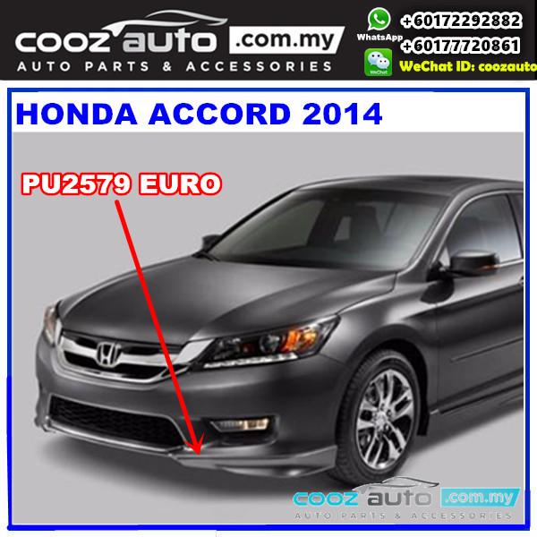 Honda Accord 2014 Front Skirt (Euro) PU2579