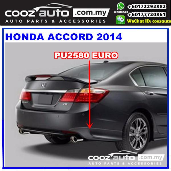 Honda Accord 2014 Rear Skirt (Euro) PU2580