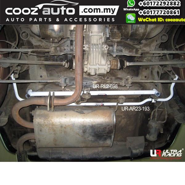 Nissan X-Trail T30 2.5 2002 Ultra Racing Rear Lower Bar Member Brace (2 Points)