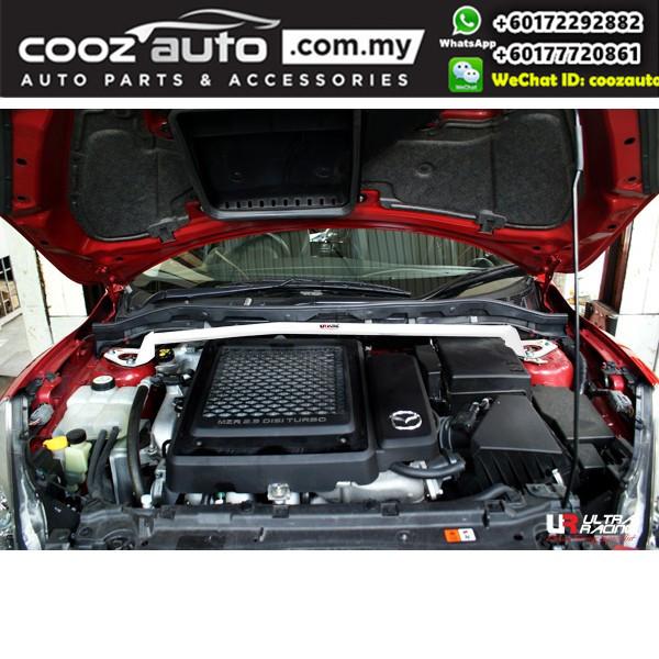 Mazda 3 MPS MZR 2.3 Turbo Hatchback 2010 Ultra Racing Front Strut Bar (2 Points)