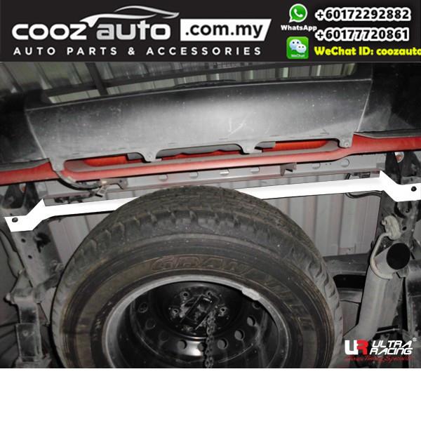 Mazda BT50 2WD 2.2D 2011 Ultra Racing REAR TORSION BAR FRAME BRACE (2 PT)
