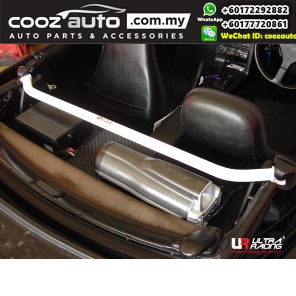 Mazda MX5 NA 1990 Ultra Racing Rear Upper Bar C Pillar Bar (2 Points)