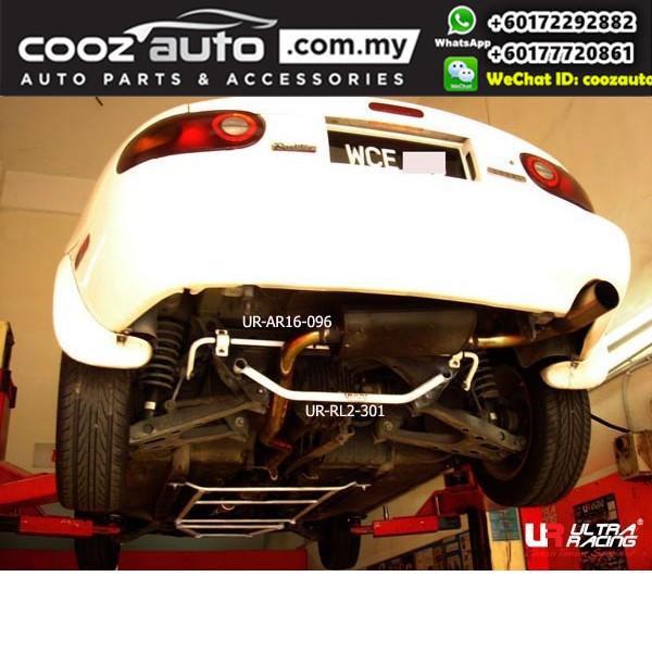 Mazda MX5 NA 1990 (16mm) Ultra Racing Rear Anti roll Bar Sway Stabilizer Bar