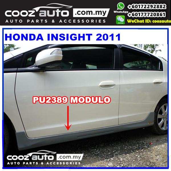Honda Insight 2011 Side Skirt With Logo (Modulo) PU2389