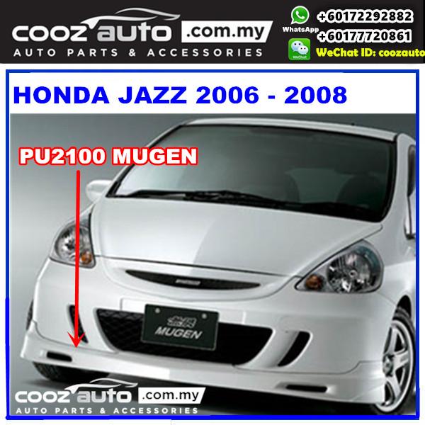 Honda Jazz 2006 - 2008 Front Skirt (Mugen) PU2100