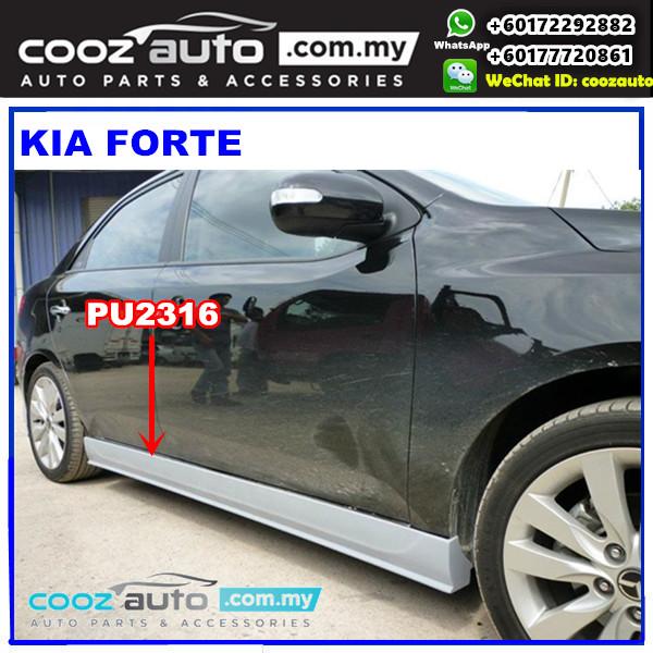 Kia Forte Side Skirt PU2316