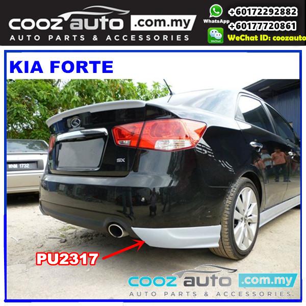 Kia Forte Rear Skirt PU2317