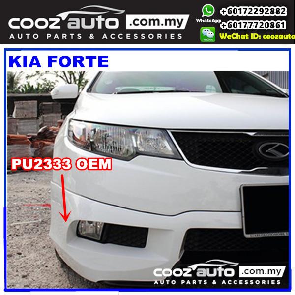 Kia Forte Front Skirt (OEM) PU2333