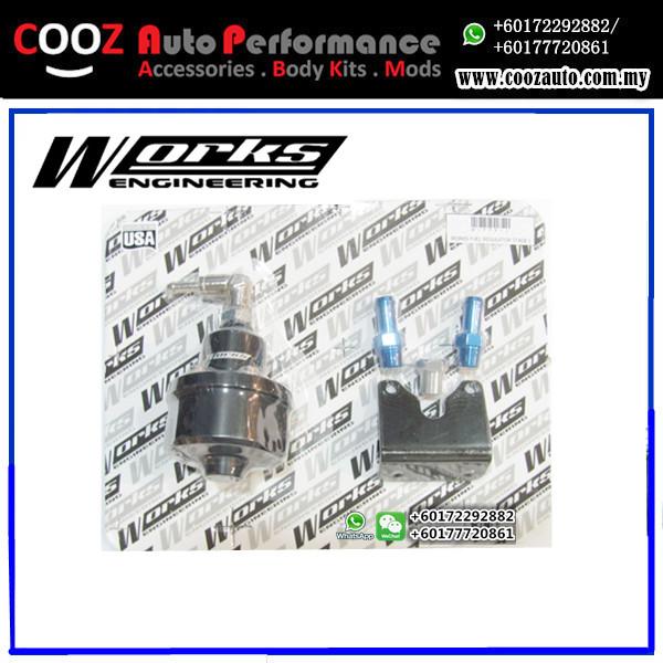 Works Engineering Fuel Pressure Regulator STAGE 2 (up to 1200bhp)
