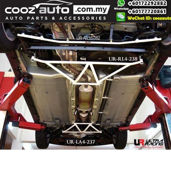 Nissan Sylphy B17 1.5 2012 Ultra Racing Rear Lower Bar Member Brace (4 Points)