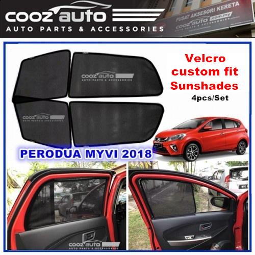 Perodua Myvi 2017 2018 2019 OEM Fitting Sun Shade Sunshade