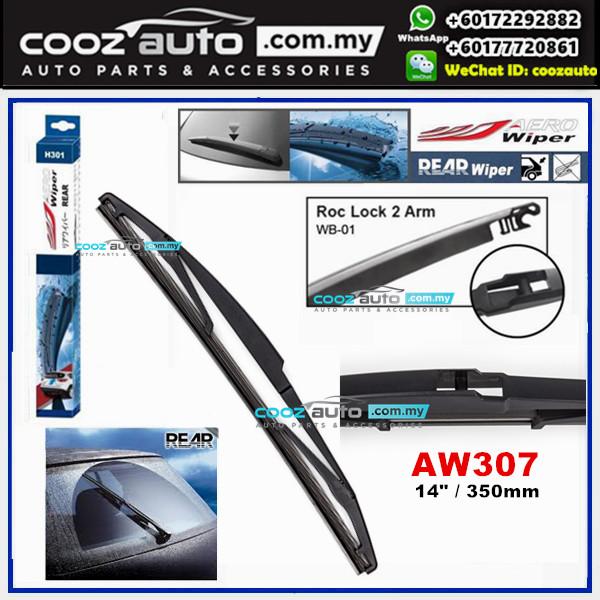 "Toyota Avanza 2006 - 2018 AERO Rear Windscreen Wiper Blade 14"" (350mm)"