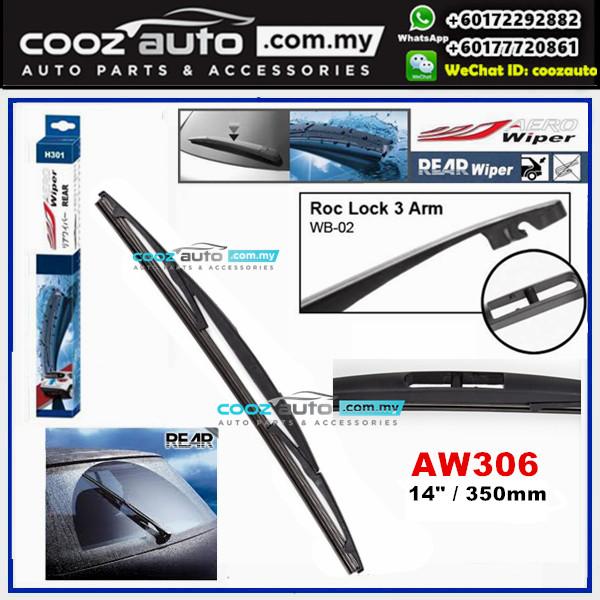 "Mazda 2 2003 - 2017 AERO Rear Windscreen Wiper Blade 14"" (350mm)"